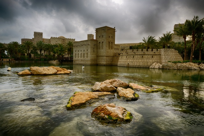Cloudy Dubai