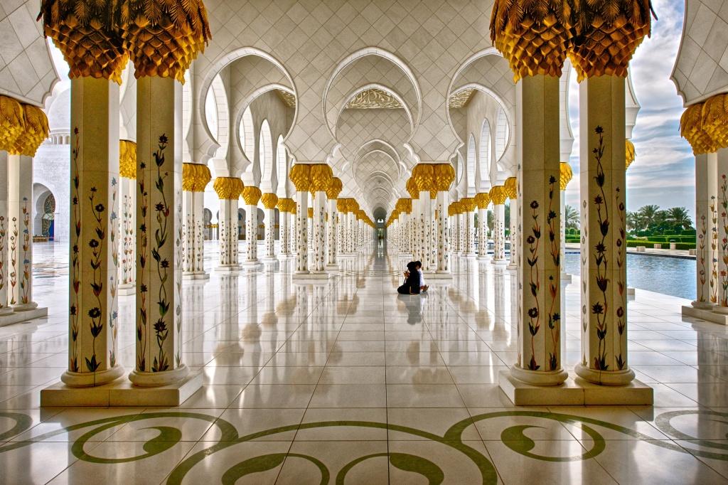 Grand Mosque Corridor