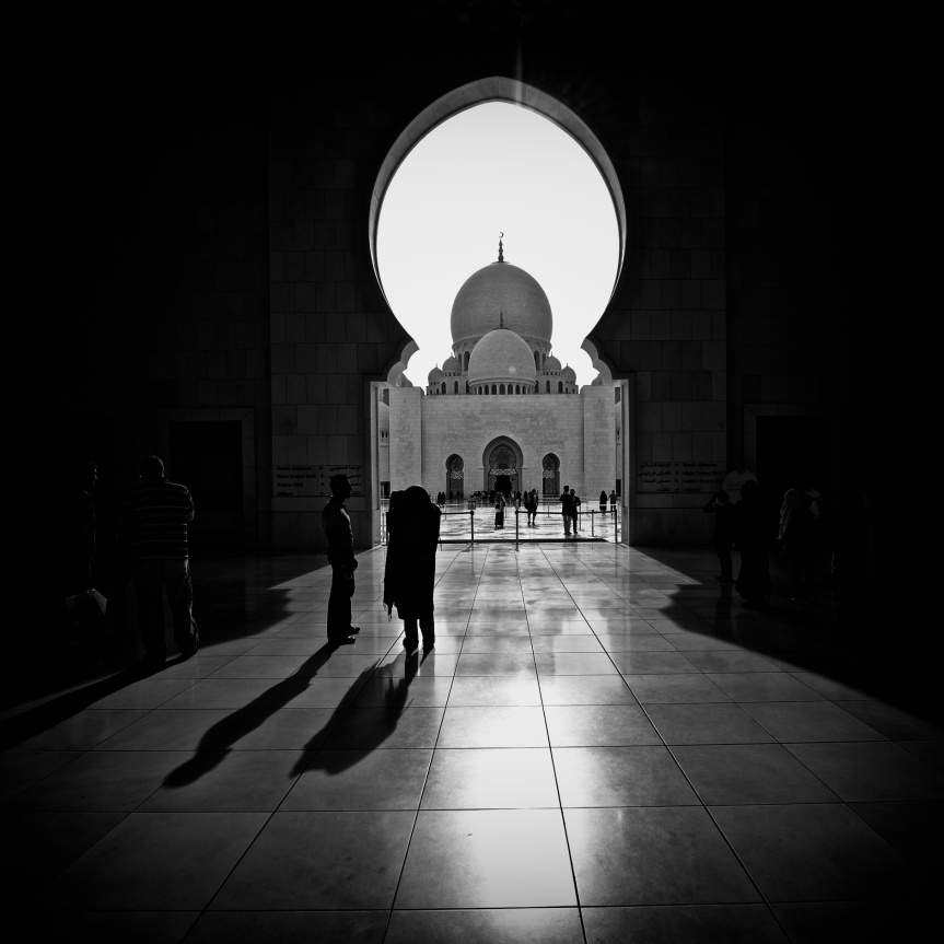 Grand Mosque Entrance