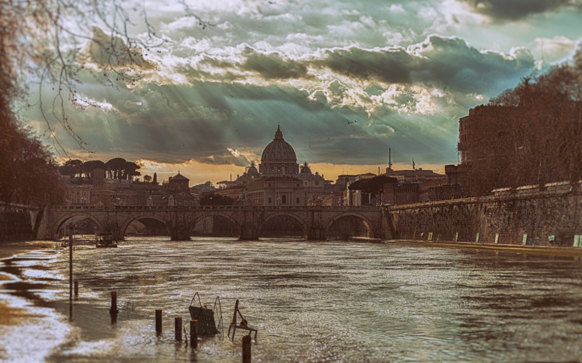 Cloudy Vatican