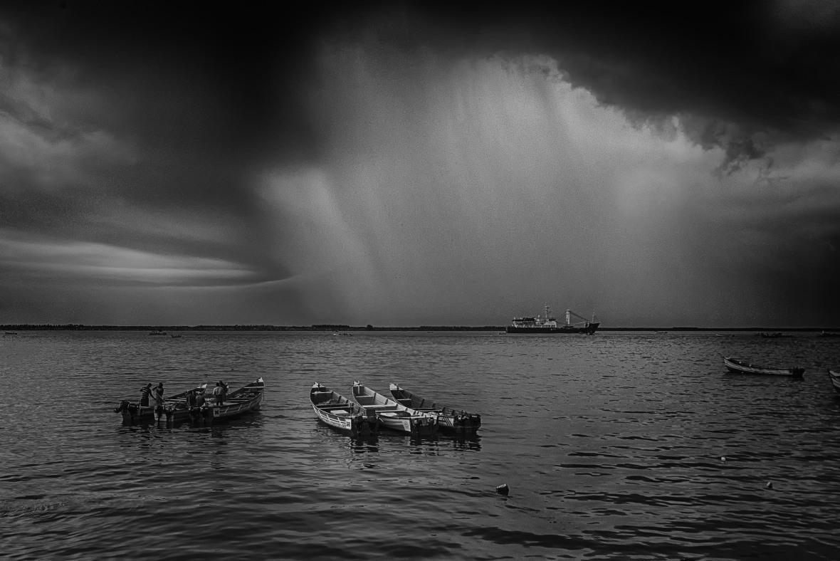 stormy skies